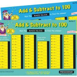 4053 Add Sub to 100